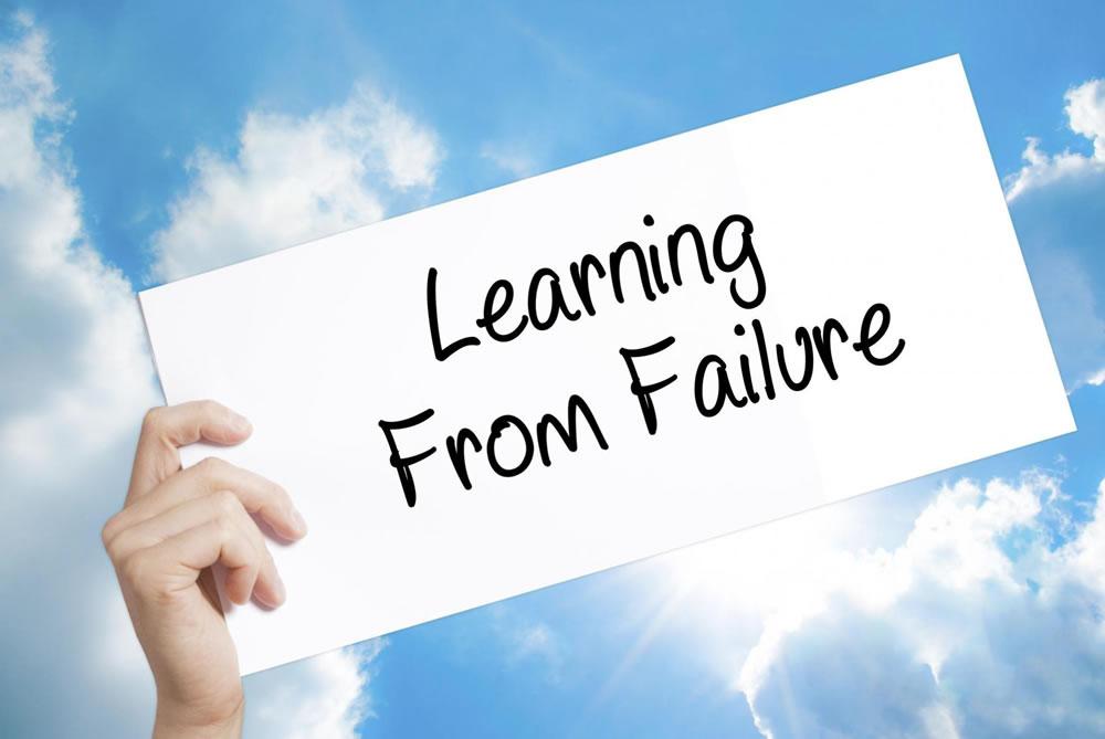 Pogreška vas ne čini neuspješnima